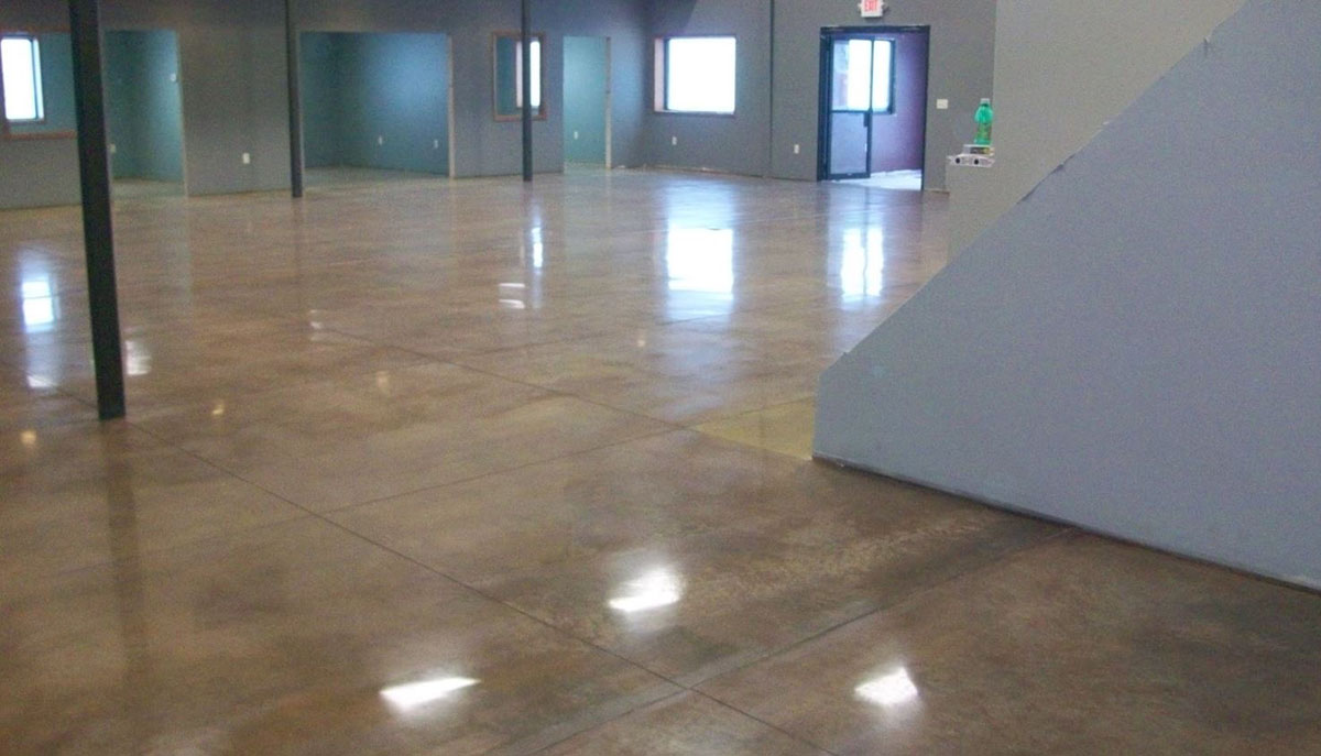 Stained Concrete Denver CO